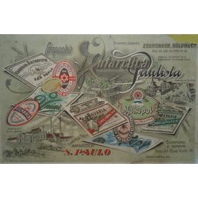 Rótulo Original De Cerveja Antiga Década De 20