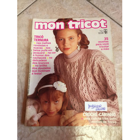 Revista Mon Tricot Nº125 38 Receitas Em Tricô E Crochê - Revistas de ... 4f683c3bc54