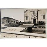 Cartão Postal Antigo Eloi Mendes Mg Igreja 1951