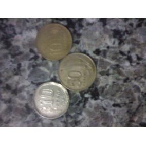 Moeda Antiga De Pesos Da Argentina E Uruguay
