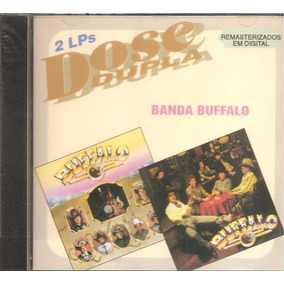 Cd Banda Buffalo - Dose Dupla -inclui Musica Festa Country