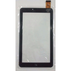 Tela Vidro Touch Tablet Dl X Quad Pro Tx325 Tx 325 Preto