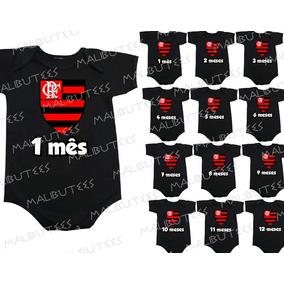 Kit Mesversario Flamengo - Roupas de Bebê no Mercado Livre Brasil 8362cf81538c7