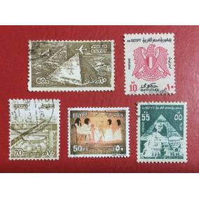 Selos Do Egito - África - 5 Selos (ver Imagem) - Frete 5,00