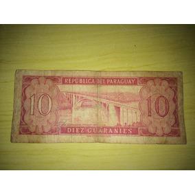 Nota De 10 Diez Guaranies