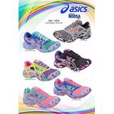 c06515f944 Asics Gel Noosa Tri 8 Feminino Cadarço Colorido Mercado Envios no ...