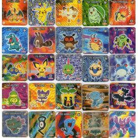 Coleção De Tazos-jo-kén Pokémon-elma Chips-2001(faltam 12)