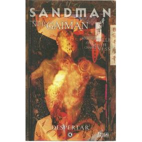 Hq-sandman:despertar-capa Dura:luxo-neil Gaiman:vertigo-novo