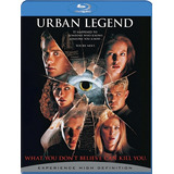 Urban Legend Blu Ray Leyenda Urbana