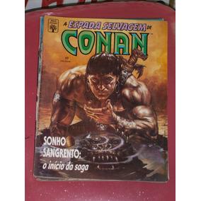 Conan Saga 3 Ediçoes - 23, 24 , 25 Conan Versus Thot-amon