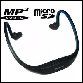 Audifonos Reproductor Mp3 Expandible 16gb Micro Sd Tienda!!