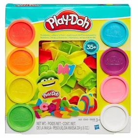 Kit Massinha Play-doh Letras E Números - Hasbro 21018