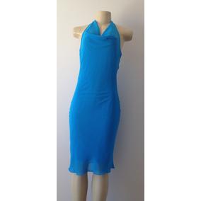 Vestido - Diversas Ocasiões - Azul - Tam G
