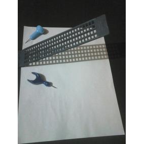 Regleta Para Escritura En Braille Incluye Punzón