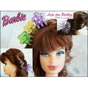 Kit 3 Presilhas De Cabelo Para Boneca Barbie Susi Blythe