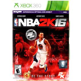 Nba 2k 16 Midia Fisica Xbox 360 - Original - Lacrado