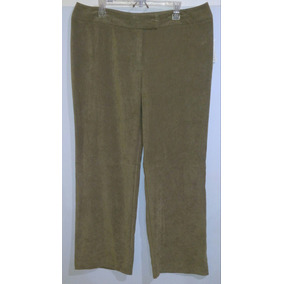 76b78d5b7b Pantalon Dama Extra 18 2xl 42 Kaki Stretch Suave Como Durazn