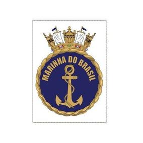 Adesivo Marinha Do Brasil Adesivo Externo De Ótima Qualidade