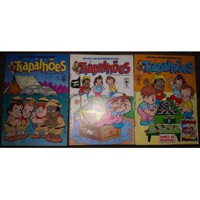 Gibi Revista Em Quadrinhos Dos Trapalhões Nº 53, 54 E 55