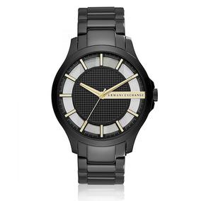 Relógio Masculino Armani Exchange Analógico Ax2192/8pn Aço P