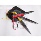 Faca Tripla Estrela Ninja Punhal no Mercado Livre Brasil 5a5a44132b345