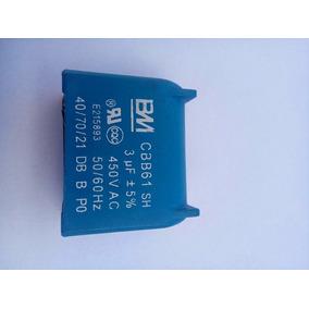 Capacitor Cbb61 3 Uf 450v 50/60hz Usado Em Placas De Ar Con