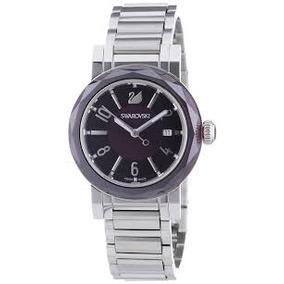 Reloj Swarovski Con Amatista Impecable
