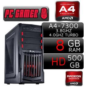 Cpu Gamer 8gb Hd8450 2gb Hdmi Wifi Autocad Csgo Lol Fortnite