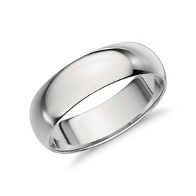 260fabbbe7b4 Par De Argollas De Matrimonio Oro Blanco 10k Envio Gratis!