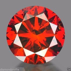 Diamante Rojo Certificado .15 Quilate 100% Natural