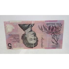 Cédula Five Dollars Australia