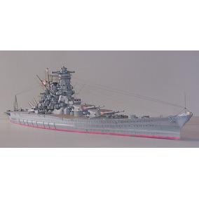 Acorazado Ijn Yamato - Modelo De Papel
