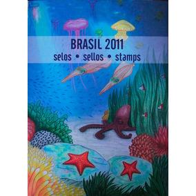 Colecao Anual De Selos Do Brasil - 2011