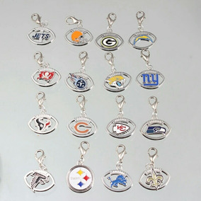 Pingente/chaveiro Em Metal Nfl Patriots, Packers, Cowboys