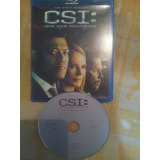 Blu-ray. Inglês. Csi: Crime Scene Investigation. Ninth .6 Di