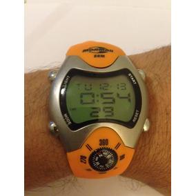 Relógio Mormaii Bússola 1324 Laranja Usado