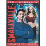 Dvd Smallville A Sétima Temp. Disco 4 Epis.13- 16 - (30)