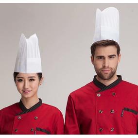 Touca Chef Toucas Masculino - Acessórios da Moda no Mercado Livre Brasil d4a7c12a977