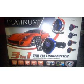 Se Vende Reproductor Mp3 Transmisor Fm Para Vehículo, 3 En 1