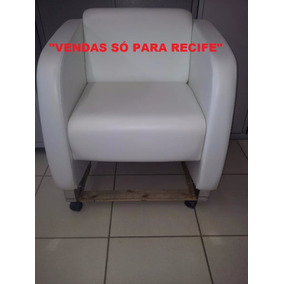 Poltrona Cavaletti Branca (s/nova) Vendas Só Para Recife