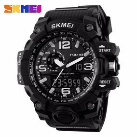 2016 Skmei Grande Mostrador Do Relógio Digital De Homens S C