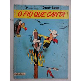 Lucky Luke O Fio Que Canta! Martins Fontes 1985!