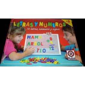 Juegos Con Letras Y Numeros Para Ninos Juegos De Mesa En Mercado