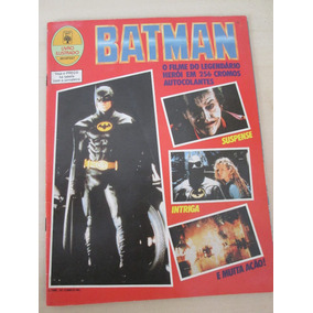 Álbum Batman 1989 Imcompleto