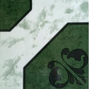 Piso Cerámica Alexandria Verde 43x43 Cerámicas Castro