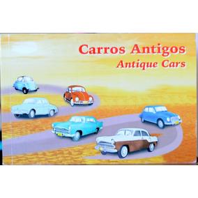 V-8064 Kit Com 12 Cartao Postal Carros Antigos 2001