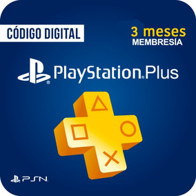 Playstation Network 3 Meses Plus Usa