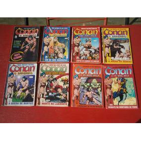 Conan - O Barbaro - Formatinho - Colorido 1 Ao 10