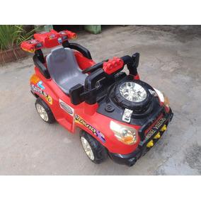 Expectacular Camioneta Electrica Para Niño Usado Sin Bateria