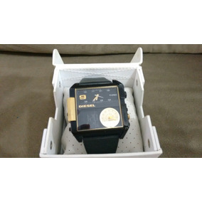 Relógio Diesel Usado Original Com Caixa E Manual